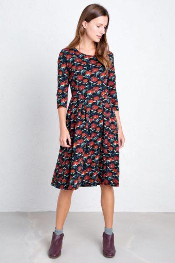 Seasalt Cornwall Šaty z bio bavlny mouls bold berry