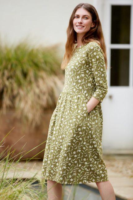 Seasalt Cornwall Šaty z bio bavlny guelder rose