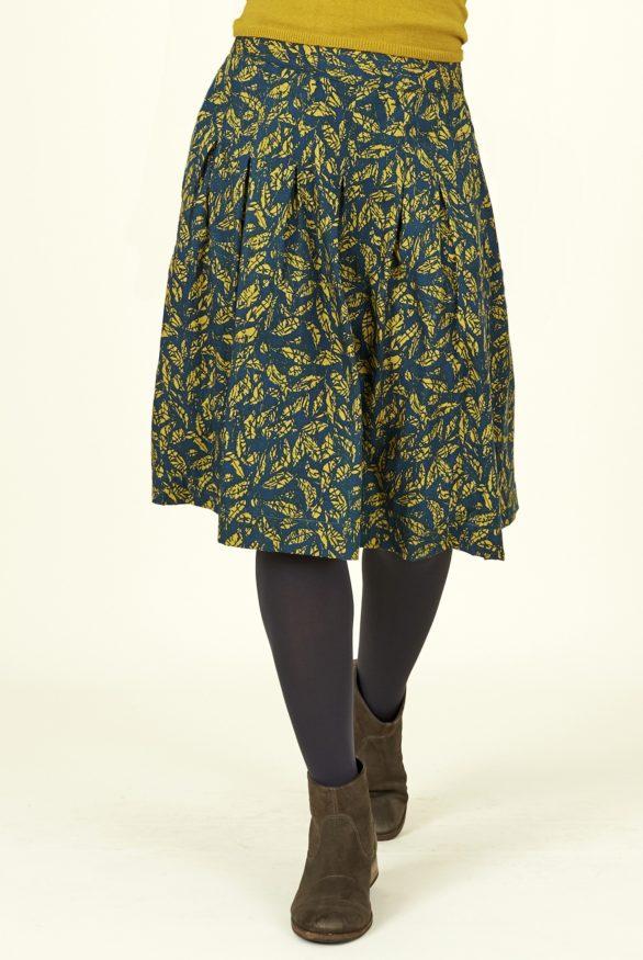 Nomads lyocelová sukně batik leaf