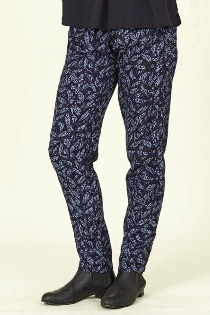 Nomads lyocelové kalhoty modré