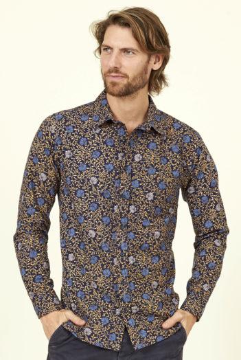 Nomads pánská košile botanical zelená