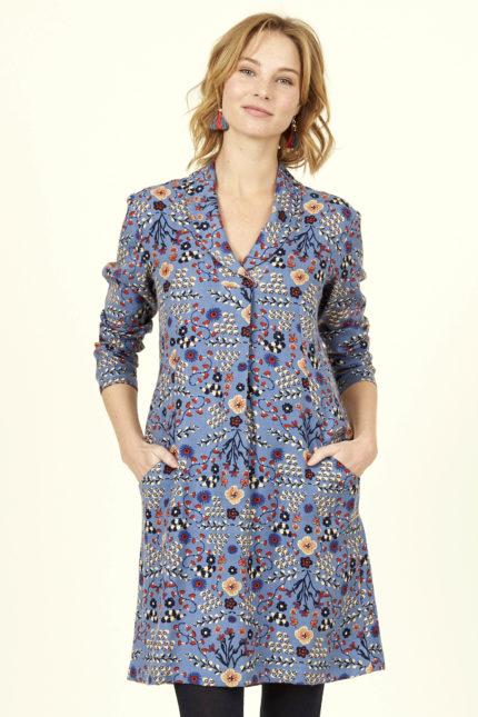Nomads viskózové šaty s plisé