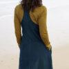 Nomads manšestrové šaty s laclem zelené