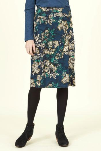 Nomads sukně bold floral se sklady