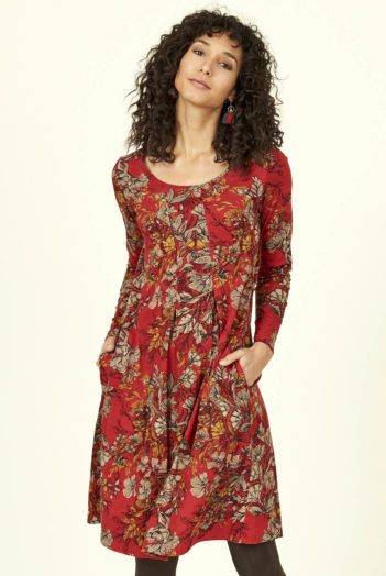 Nomads Šaty bold floral z bio bavlny