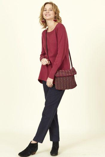 Nomads mini kabelka červená