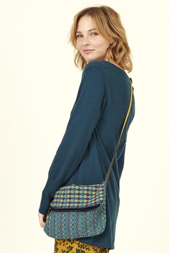 Nomads mini kabelka modrá