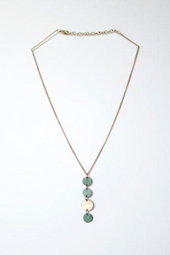 Nomads náhrdelník patina drop