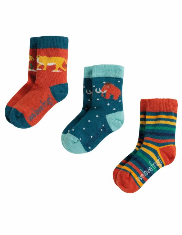 Nomads trojbalení ponožek prehistoric