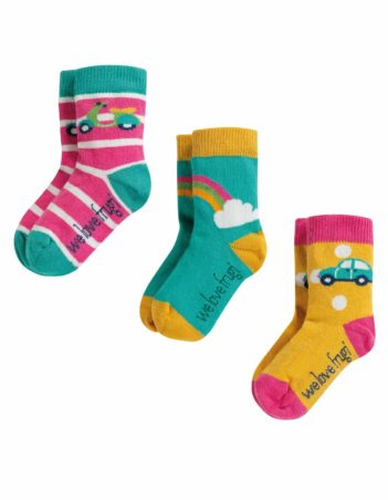 Nomads trojbalení ponožek rainbow