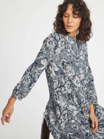 Thought konopné šaty s rayonem lisbet