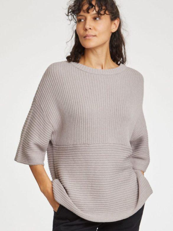 Nomads svetr runa šedý