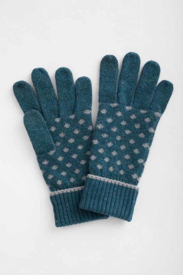Seasalt rukavice confetti dark lake