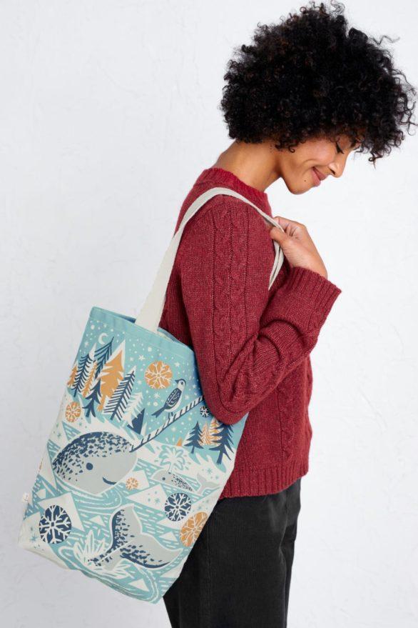 Seasalt nákupní taška narwhals and bunting