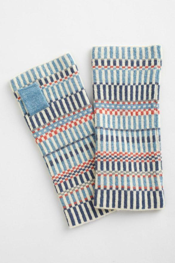 Seasalt bezprstové palčáky malva monty blue