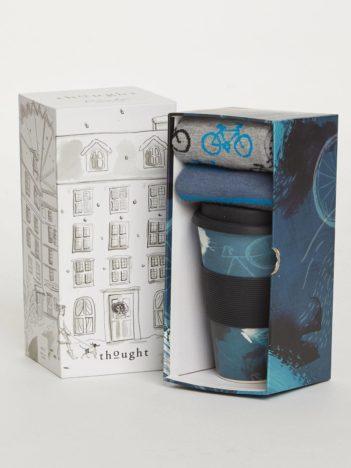 Thought dárkové balení hrníčku a pánských ponožek cycler