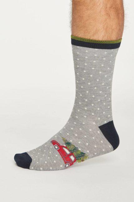 Thought dvojbalení pánských ponožek festive pine