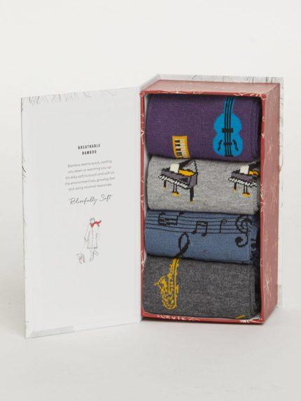 Thought dárkové balení pánských ponožek melody