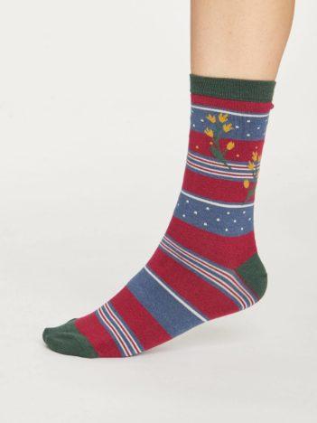 Thought dvojbalení dámských ponožek aviary