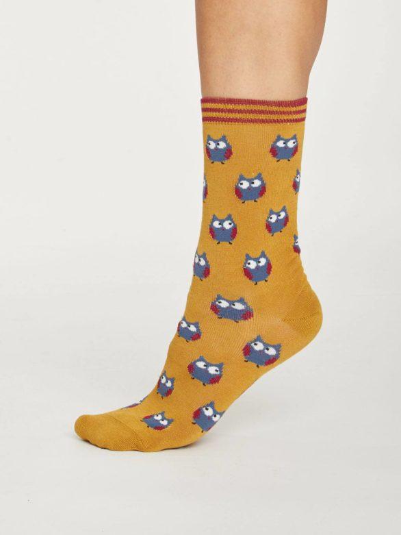Thought dárkové balení dámských ponožek fauna