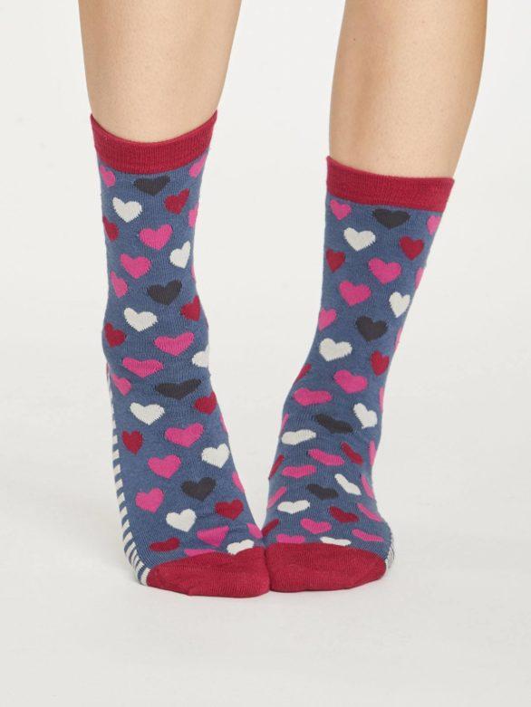 Thought trojbalení dámských ponožek hearts & stripes