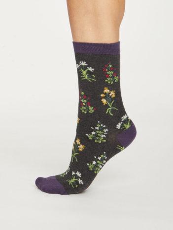 Thought dámské bambusové ponožky sylvan šedé