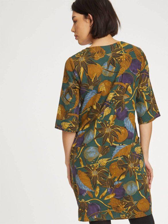 Thought konopné šaty hakonia