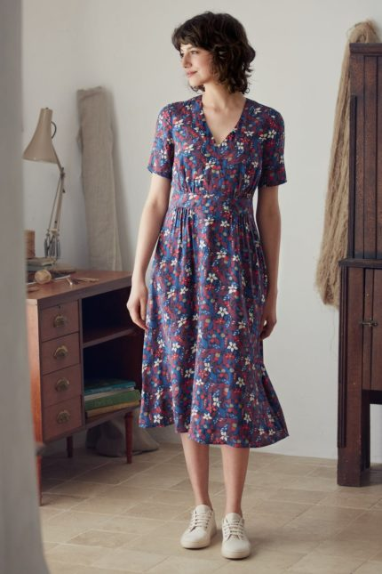 Seasalt modalové šaty photographic