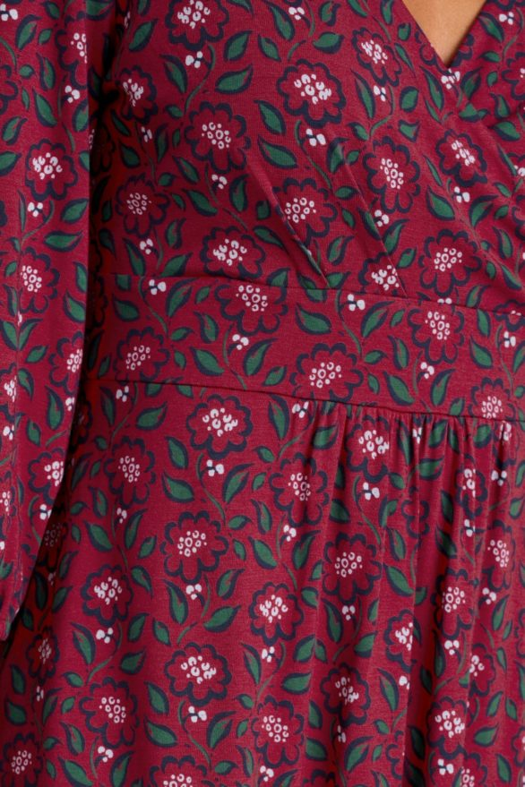 Seasalt Cornwall  bambusové šaty dancers floral mainsail