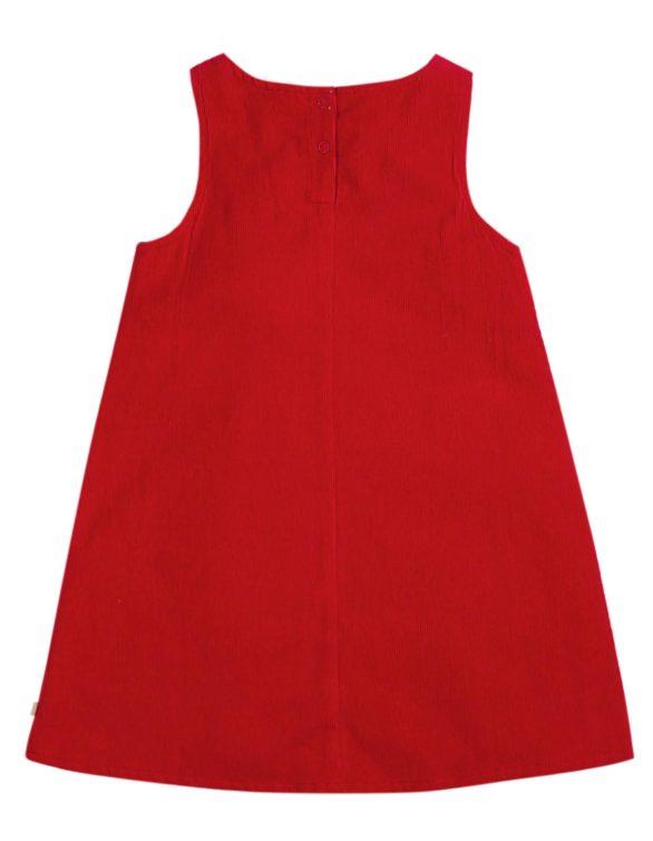 Frugi  Šaty amber červené