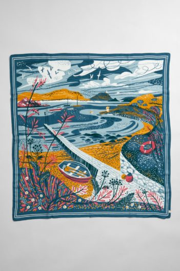 Seasalt Cornwall modalový šátek scenic speedwell