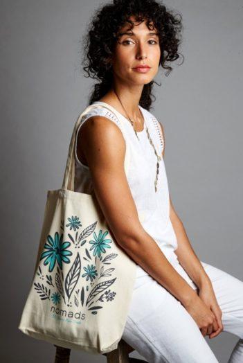 nákupní taška z bio bavlny nomads (dárek k nákupu)