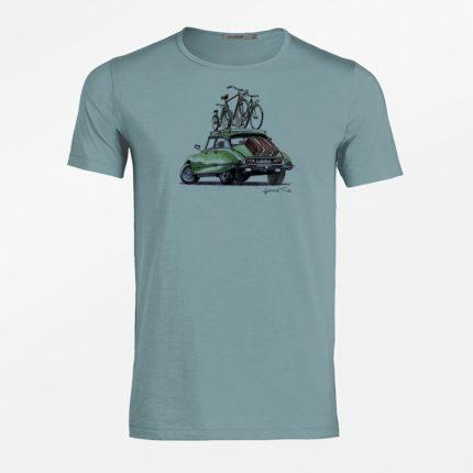 Greenbomb tričko good trip modré