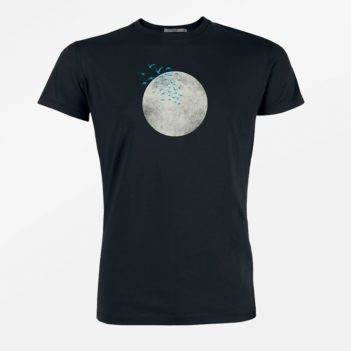 Greenbomb nature birds moon guide black kl