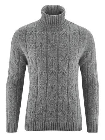 Living Crafts rolákový svetr s vlnou franz