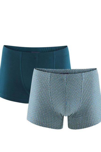 Living Crafts dvojbalení pánských boxerek z bio bavlny hogan