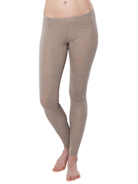 Living Crafts funkční merino kalhoty bassy šedé
