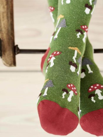 Living Crafts ponožky z bio bavlny medvídci