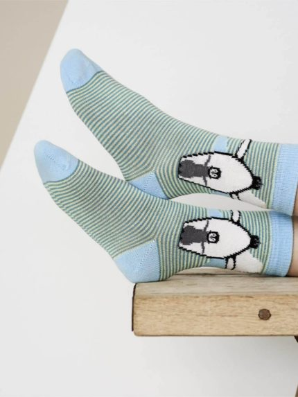 Living Crafts ponožky z bio bavlny tučňáci