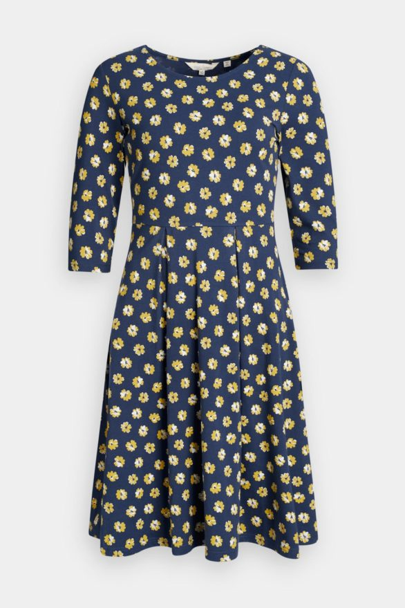 Seasalt Cornwall Šaty z bio bavlny mouls primrose