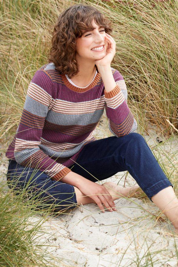 Seasalt Cornwall bavlněný svetřík hugh town