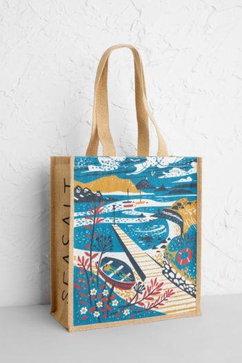 Seasalt Cornwall jutová nákupní taška tean sound