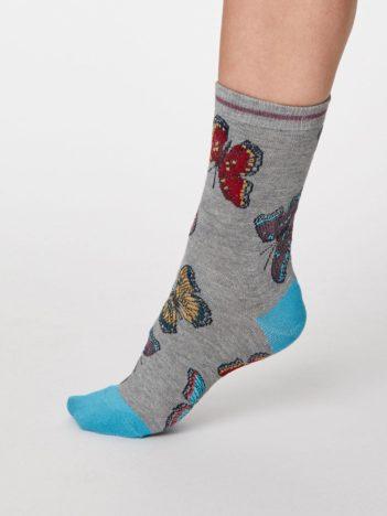 Thought dámské bambusové ponožky insetto šedé