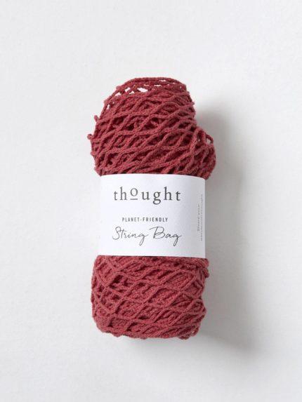Thought síťovka z bio bavlny červená