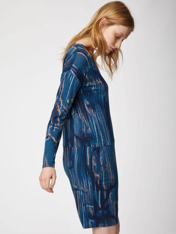 Thought bambusové tunikové šaty ammonite