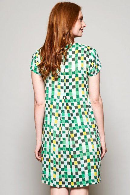 Nomads tunikové šaty colour block zelené