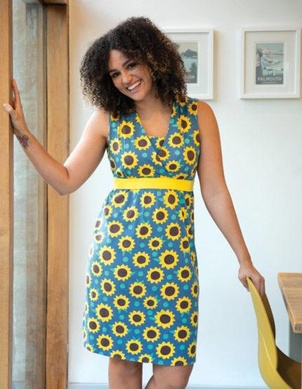 Frugi těhotenské šaty sunflowers