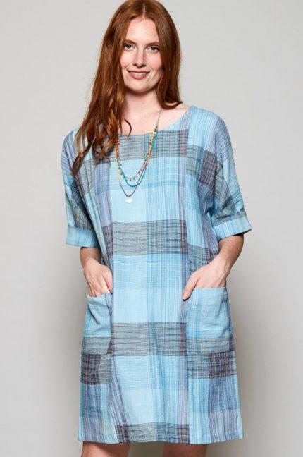 Nomads ručně tkané tunikové šaty