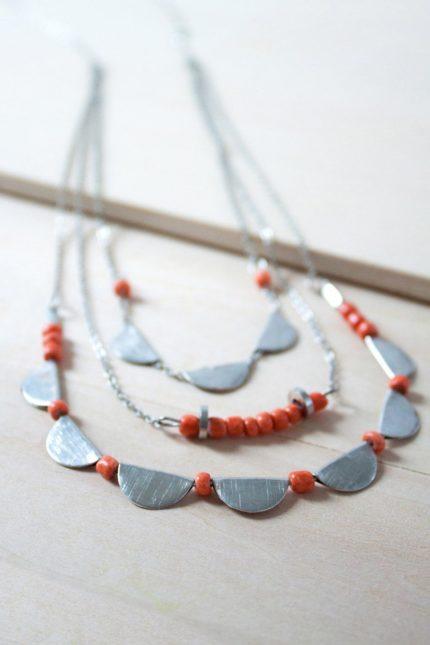 Nomads náhrdelník half moon