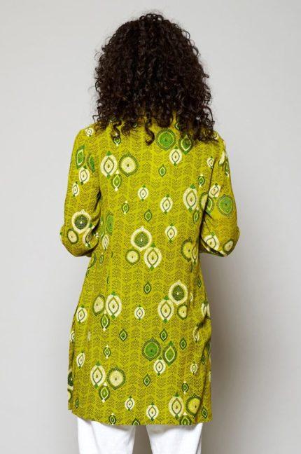 Nomads tuniková košile zanzibar žlutá